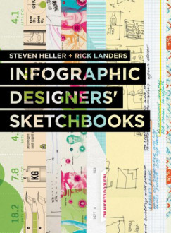 """Infographic Designers' Sketchbook"" cover"