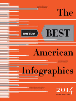 """The Best American Infographics 2014"" cover"