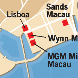 5W Samples - Macau Casinos